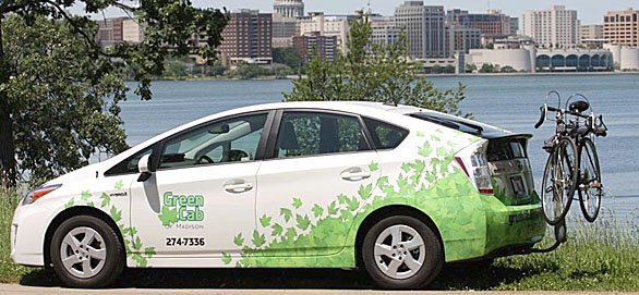 Green Cab Madison >> Green Cab Of Madison Aims To Be Eco Friendly Inexpensive Taxi