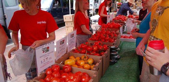 Dane County Farmersu0027 Market: Canopy Gardens