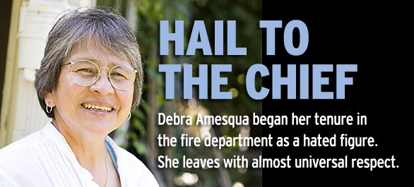 Once Madisons Most Controversial Work >> Hail To Outgoing Madison Fire Chief Debra Amesqua Isthmus