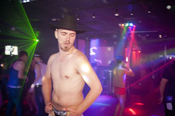 Gay Go Go Dancer 113