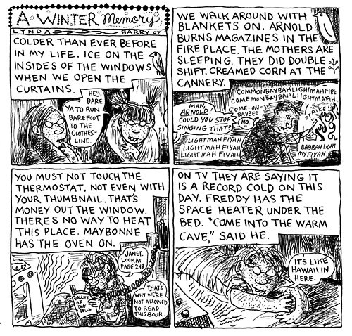 Looking Back At Quot Ernie Pook S Comeek Quot By Lynda Barry