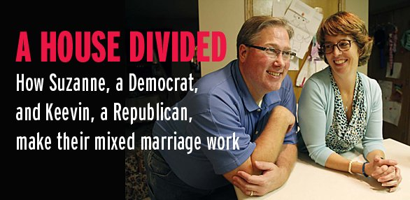 a house divided  can a democratic  republican marriage