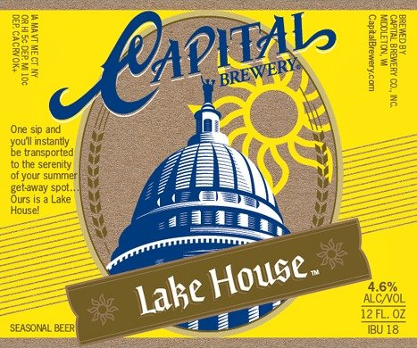 Image result for capital brewery lake house
