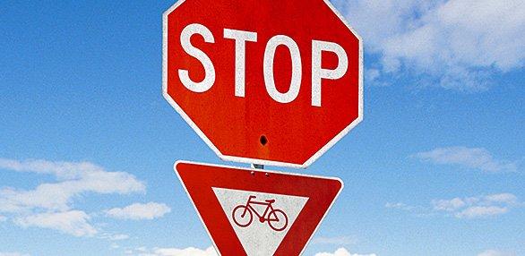 """Велоспорт: Монреаль """"против"""" обязательного ношения велошлема и """"за"""" «stop américain»"""
