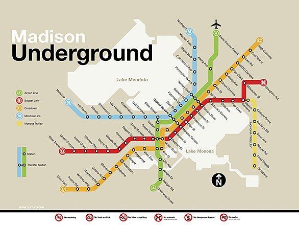 Madison Metro Map.Cultural Representations Of Madison Reinforce Racial Disparities
