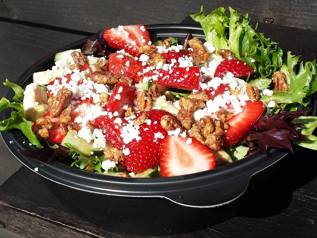 Good Food's Strawberry Love Salad.