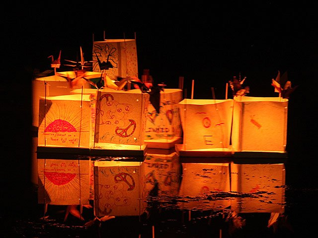 Lanterns For Peace At Tenney Park Last >> Lanterns For Peace Isthmus Madison Wisconsin