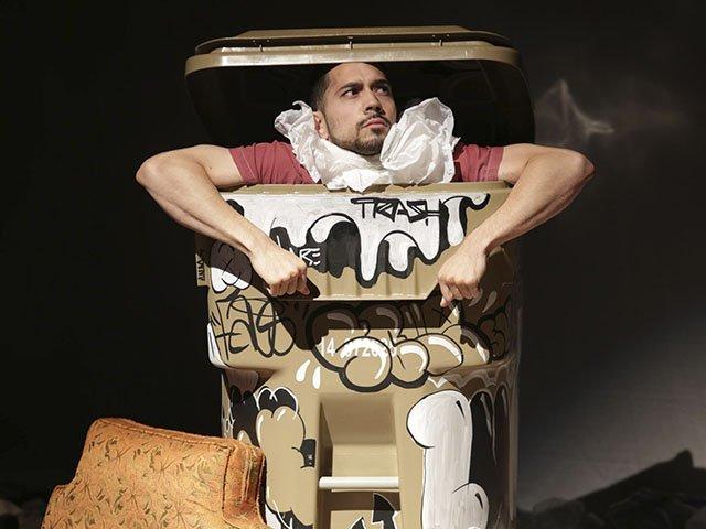 """Karl Iglesias in """"Trash"""""""