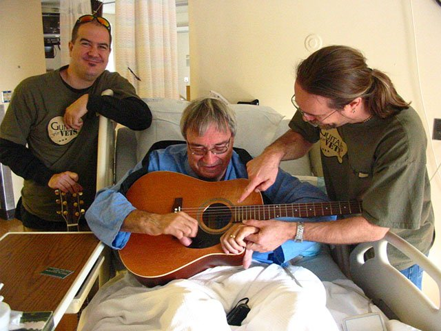 Guitars For Vets Lessons For Veterans Suffering From Ptsd