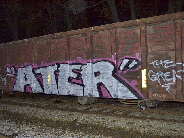Graffiti Rush Isthmus Madison Wisconsin