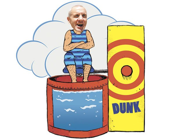 west fest isthmus madison  wisconsin Funny Dunk Tank Funny Dunk Tank