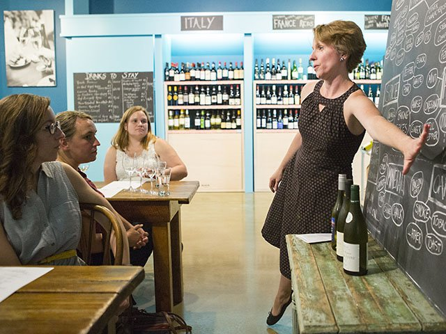 Local wine shops hold tastings, classes to educate customers