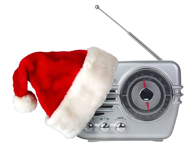 Christmas Music Radio.The Mic Replaces Progressive Talk With Christmas Music