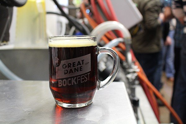 Saturday, February 11 - Great Dane Bockfest at Great Dane - Hilldale