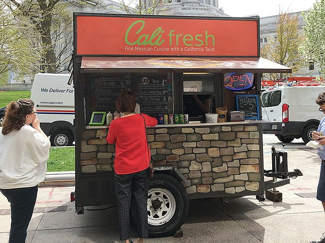 Food Cart Truck Isthmus Madison Wisconsin