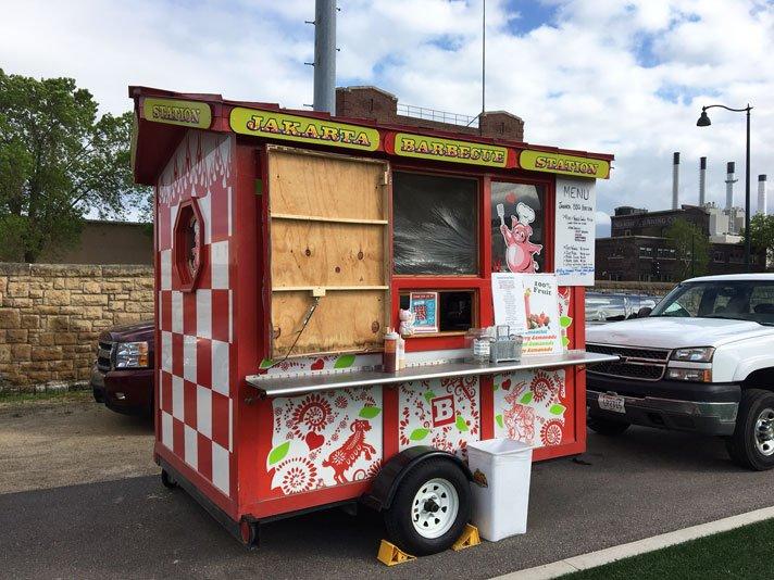 Caliente Grill Food Truck Menu