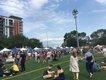 The urban pleasures of Breese Stevens Field suit Yum Yum Fest.