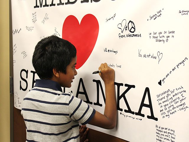 To Sri Lanka with love
