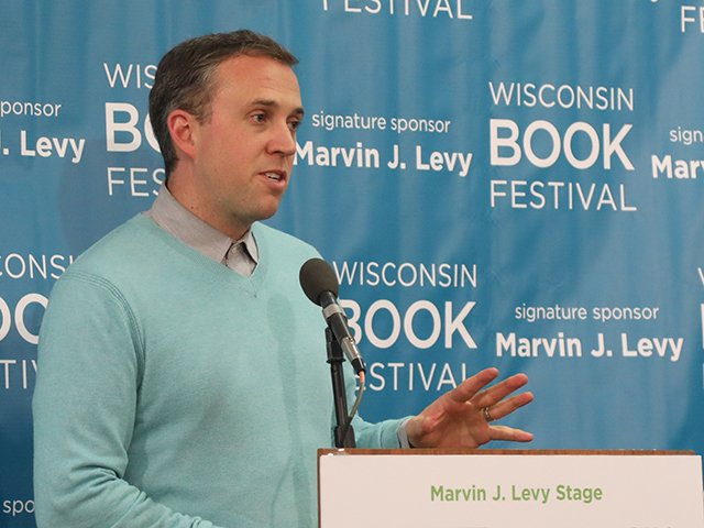 Conor Moran, director of the Wisconsin Book Festival