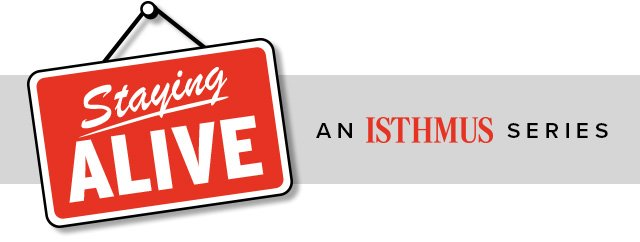 Logo for Staying Alive series