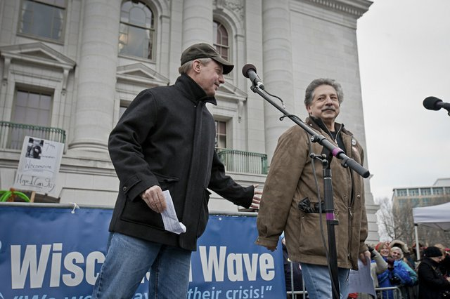 Dave Cieslewicz and Paul Soglin