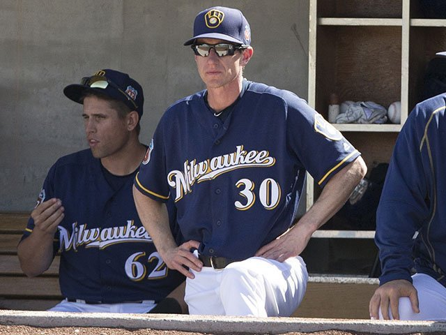 Craig Counsell manager Milwaukee Brewers
