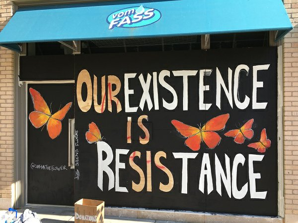 Our existence is resistance, artist Sirena Kilfoy-Flores