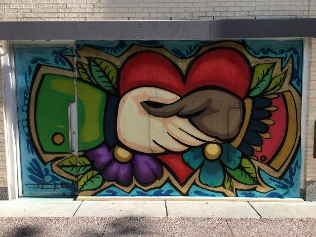 Handshake, by Charlotte Bizoe