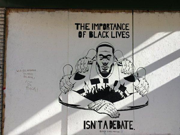 The importance of Black lives, artist Rodney Lambright