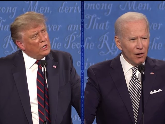 Biden Trump presidential debate Sept. 29, 2020