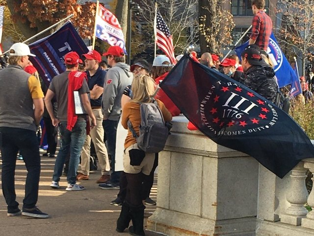 Trump rally, Nov. 7, 2020 Madison