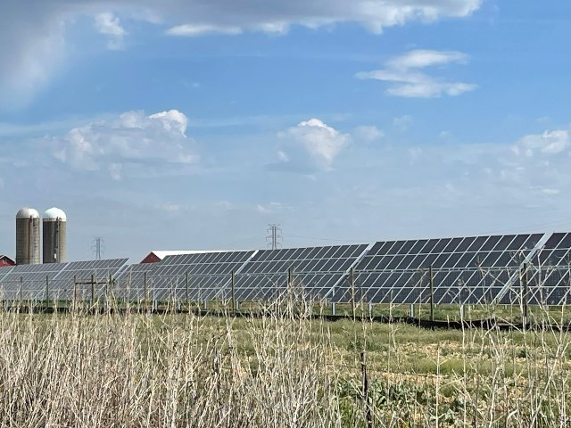 O'Brien Solar Fields in Fitchburg May 2021