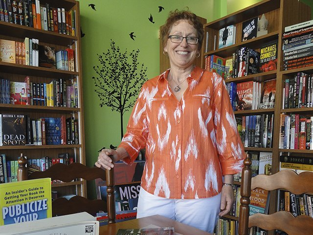 Joanne Berg of Mystery to Me bookstore