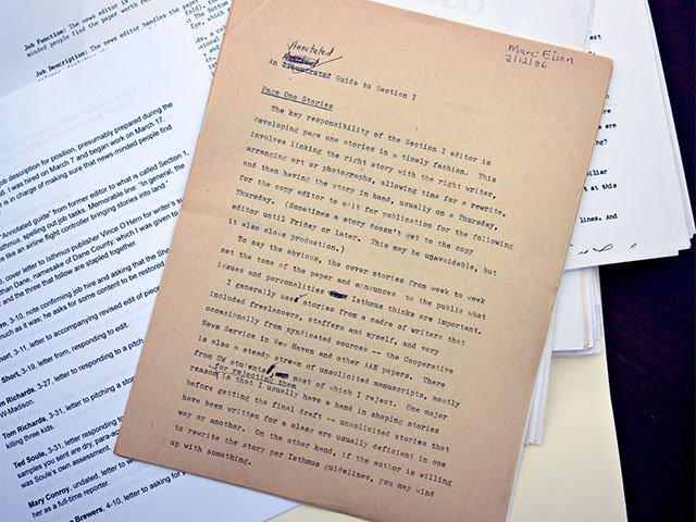 Marc Eisen letter to Bill Lueders