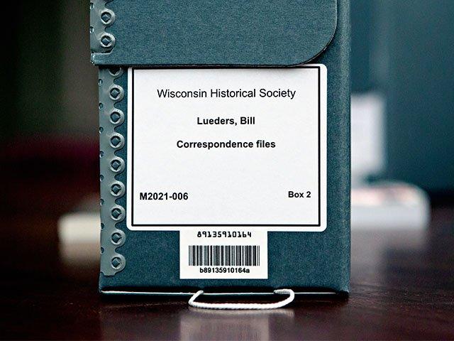 Bill Lueders correspondence file